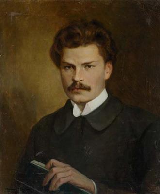 Maxim Bogdanovich portrait by Valintin Volkov